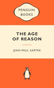 book cover - The age of reason, by Jean-Paul Sartre